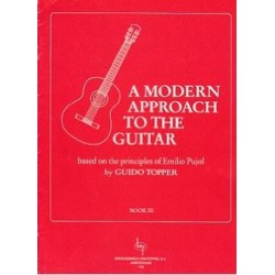 A MODERN APPROACH TO THE GUITAR VOL 1 DE GUIDO TOPPER