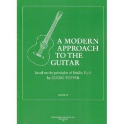 A MODERN APPROACH TO THE GUITAR VOL 2 DE GUIDO TOPPER