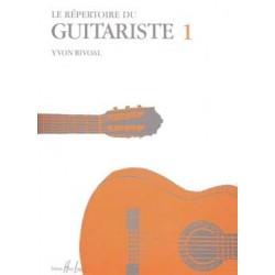 Répertoire du Guitariste Vol.1 - RIVOAL Yvon
