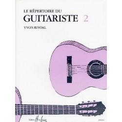 Répertoire du Guitariste Vol.2 - RIVOAL Yvon