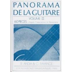 panorama de la guitare vol 2 de P.Andia et C.Fayance