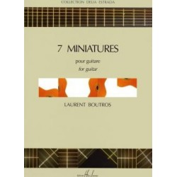 Miniatures (7) - BOUTROS Laurent