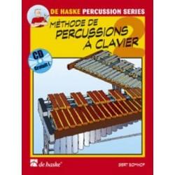 methode de percussions a clavier vol 2 + cd ed dehaske de GERT bOMHOF