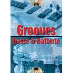 Grooves basse et batterie + cd de P.Sarfati et D.d'Aggsotino
