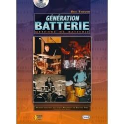Génération batterie  d'Eric Thiévon + 2 cd ed carisch