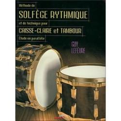 Méthode de solfège rythmique de guy lefèvre ed musicom