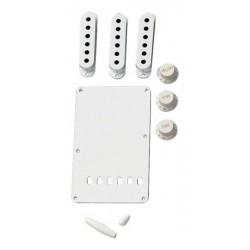Fender Strat Accessory Kit White
