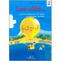 Les clés Vol.2 - SICILIANO Marie-Hélène